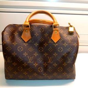 Louis Vuitton Speedy 30 Monogram Vintage bag